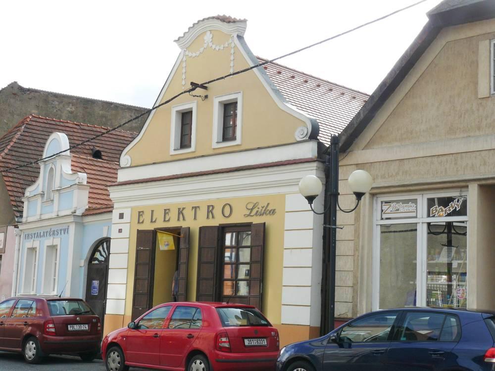 historická budova Rožmitál pod Třemšínem